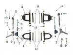 N°1 - Triangle de direction - Supérieur - Noir
