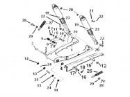 N°2 - Axe de bras oscillant