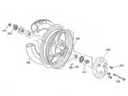 N°198 - Axe de roue avant