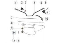N°8 - Câble d'accélérateur