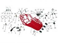 N°10 - Câble de frein à main
