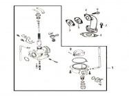 N°1 - Carburateur - 125cc