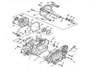 N°4 - Carter moteur - Gauche - 700cc