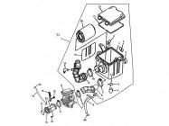 N°22 - Couvercle de boîte à air