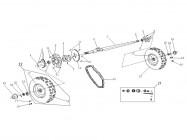 N°15 - Ecrou de roue arrière