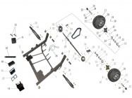 N°16 - Moyeu de roue arrière
