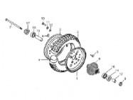 N°9 - Moyeu de roue avant