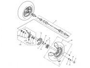 N°19 - Moyeu de roue avant