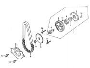 N°5 - Pignon de pompe à huile