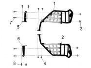 N°5 - Repose-pied droit