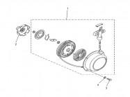 N°2 - Roue de lanceur - 500cc