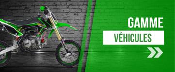 Gamme Dirt Bike de 50 à 190 cm3