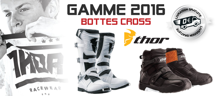 Bottes Moto Cross - Gamme THOR 2016