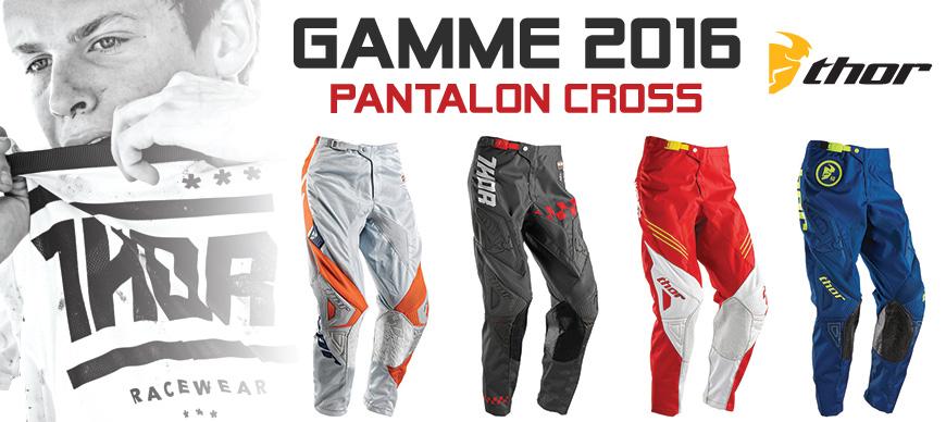 Pantalon Moto Cross - Gamme THOR 2016