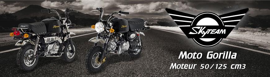Véhicules Gamme Moto GORILLA Skyteam 50/125 cm3