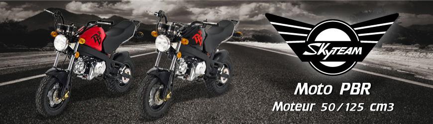 Véhicules Gamme Moto PBR Skyteam 50/125 cm3