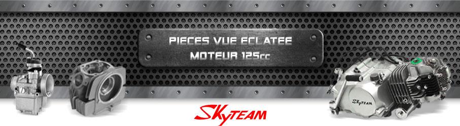 Vue Eclatée Moto 125cc SKYTEAM - Pièces Détachées Moto SKYTEAM 125 cm3