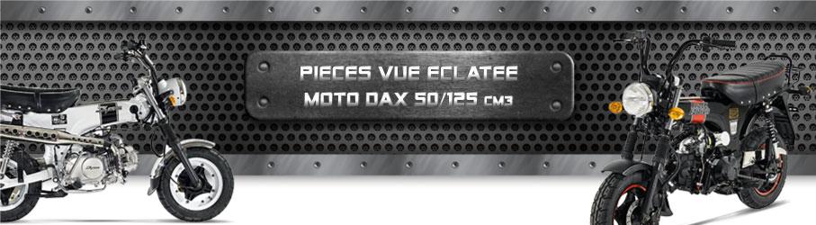 Vue Eclatée Moto Dax 50/125cc - Pièces Détachées Moto Dax 50/125 cm3
