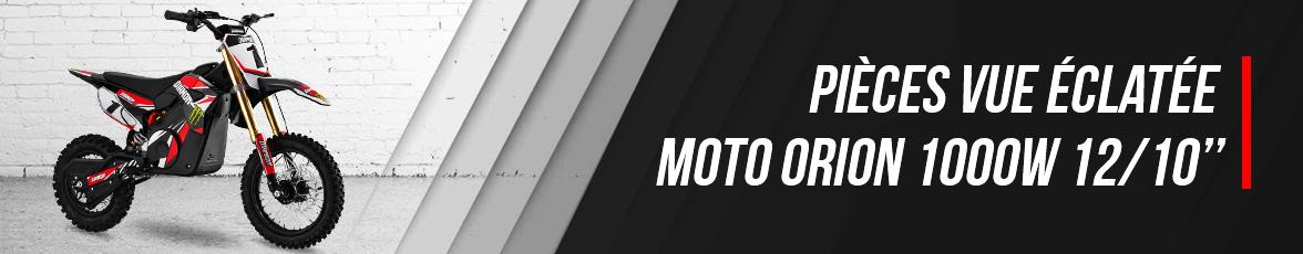 Vue Eclatée Moto Enfant ORION 1000- Pièces Détachées Moto 1000 watts