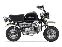 Pièces Moto GORILLA SKYTEAM 50/125 - Vue Eclatée N°8 - Câble d'accélérateur - Euro 3