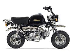 Pièces Moto GORILLA SKYTEAM 50/125 - Vue Eclatée N°1 - Tube de fourche - Gauche