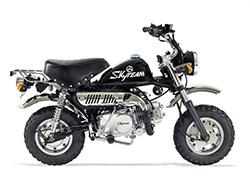 Pièces Moto MONKEY SKYTEAM 50/125 - Vue Eclatée N°8 - Câble d'accélérateur - Euro 3
