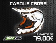 Équipements Pilote - Gamme Casque Cross NO END