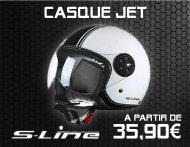 Équipements Pilote - Gamme Casque Jet S-LINE