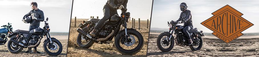 Gamme Motos Homologuées Rétro ARCHIVE 125cc - Scrambler / Cafe Racer 125 cm3