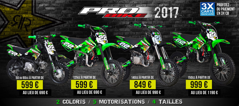 Pit Bike PROBIKE 125/140/150cc - Moto Dirt Bike Pas Cher