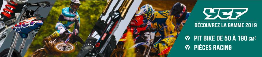 Gamme 2019 YCF - Dirt Bike / Pit Bike de 50 à 190cc