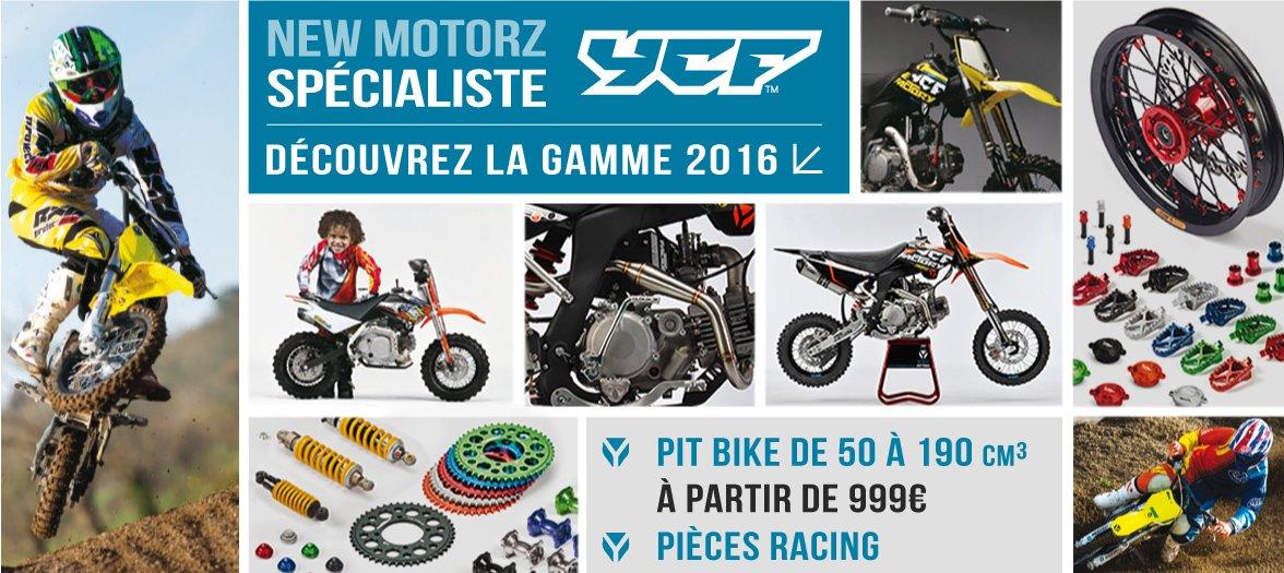 Gamme 2016 YCF - Dirt Bike / Pit Bike de 50 à 190cc et Pièces Racing