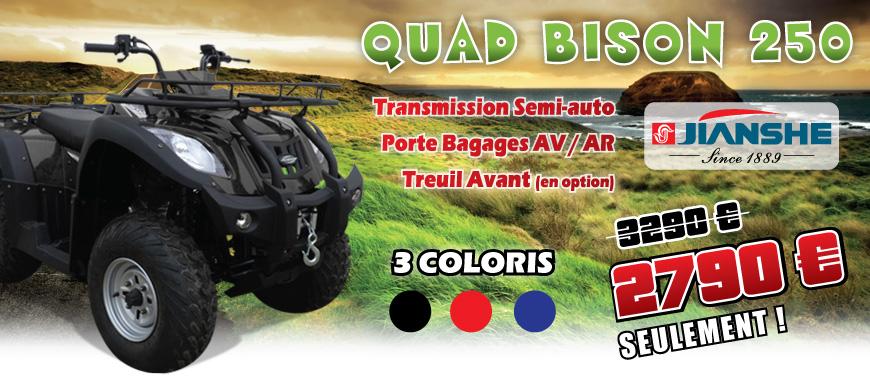 Quad JIANSHE 250 cm3 - BISON 250