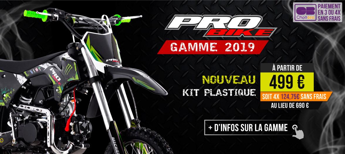 Pit Bike PROBIKE 50/88/110/125/140cc - Moto Dirt Bike Pas Cher