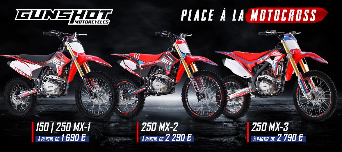 Gamme Motocross GUNSHOT MX 2021